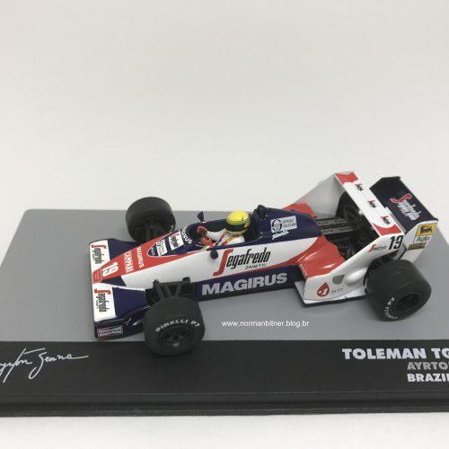1984 - TOLEMAN HART TG183B GP BRASIL