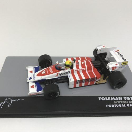 1984 - TOLEMAN HART TG184 GP PORTUGAL