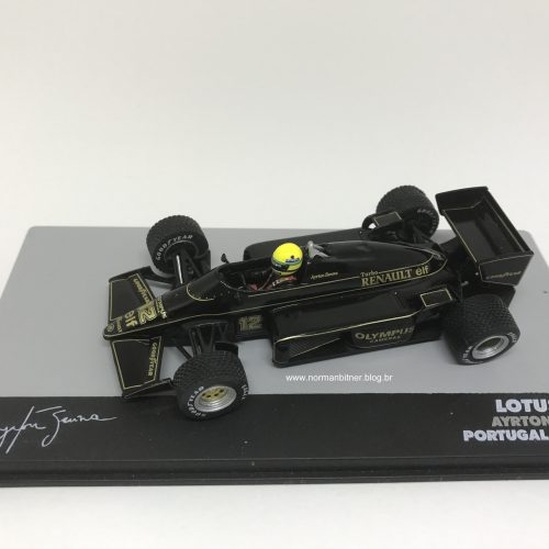 1985 - LOTUS RENAULT 97T GP PORTUGAL