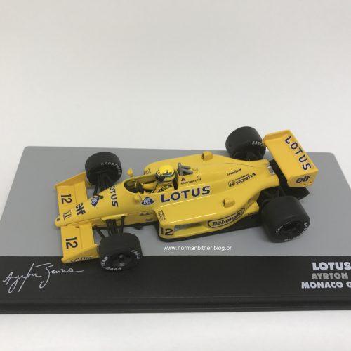 1987 - LOTUS HONDA 99T GP MÔNACO