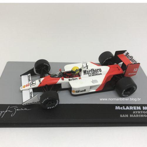 1988 - McLAREN HONDA MP4/4 GP SAN MARINO