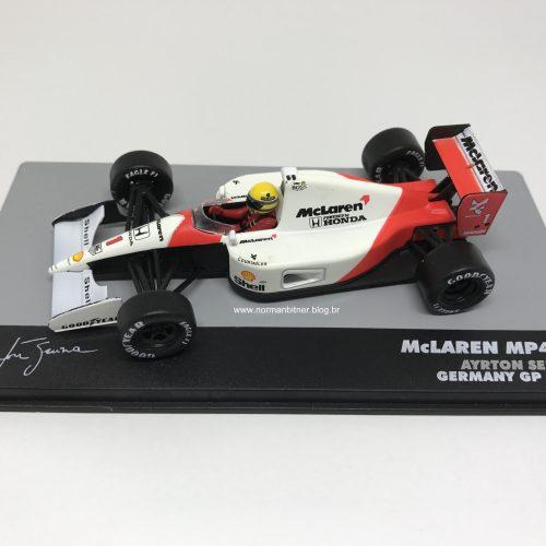 McLAREN HONDA MP4/6 GP ALEMANHA