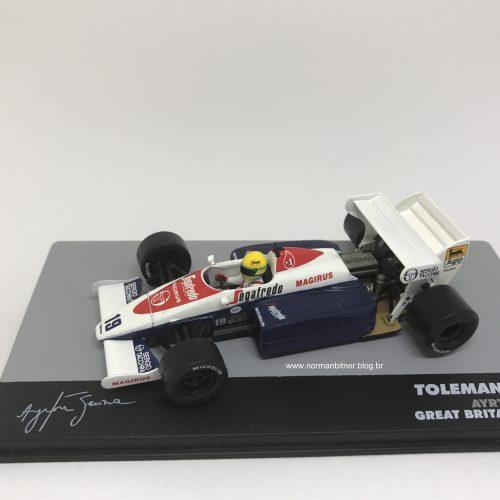 1984 - TOLEMAN HART TG184 GP INGLATERRA