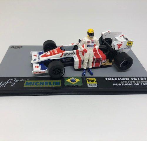 1984 - TOLEMAN HART TG184 GP DE PORTUGAL